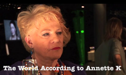 The World According to Annette K